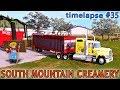 FS 17 | South Mountain Creamery Farm With Seasons | Timelapse #35| Grain sale, cow feeding