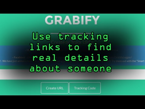 How To: Catch an Internet Catfish with Grabify Tracking Links