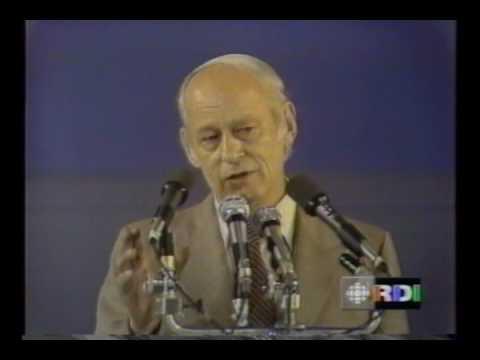 Référendum Québec 1980 - Discours de René Lévesque