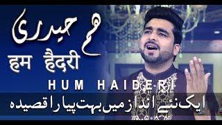 Qasida - Hum Haideri Hum Haideri - Qawal Rizwan Ali - 2018