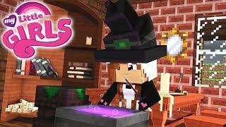 APRENDIZ DE BRUXARIA | Minecraft: MY LITTLE GIRLS #4