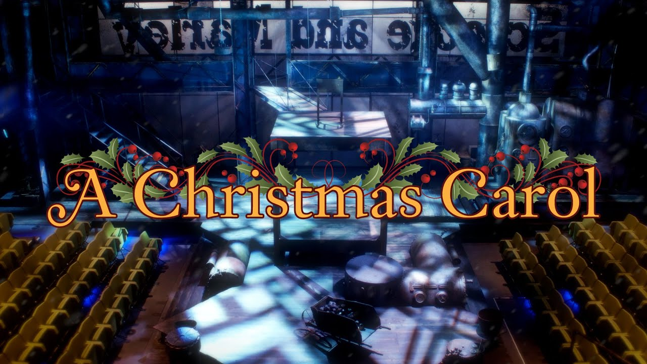 Setting the Stage for A Christmas Carol 2014 - YouTube