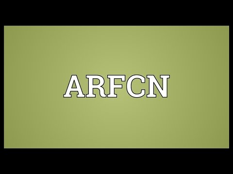 ARFCN Meaning
