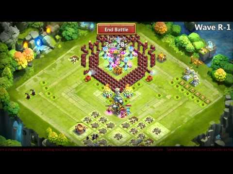 Castle Clash - HBM T Fun & Farming HBM R