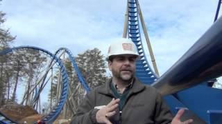 Wild Eagle Dollywood - Pete Owens Interview during Construction Tour