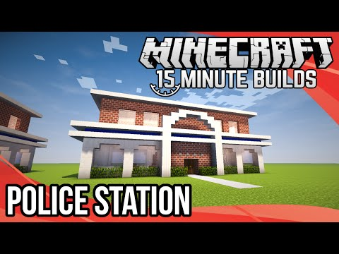 Minecraft 15-Minute Builds: Police Station