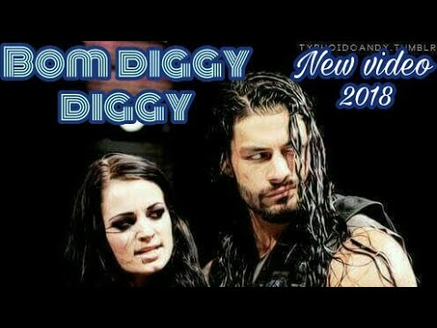 Bom diggy diggy Roman reigns & paige wwe in  punjabi song style 😃😃😎😎😉😉 thumbnail