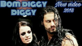 Bom diggy diggy Roman reigns & paige wwe in  punjabi song style 😃😃😎😎😉😉