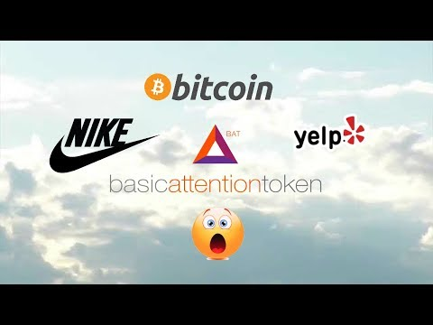YELP NIKE BAT TOKEN CRYPTO BITCOIN & MORE