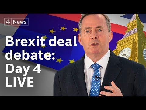 Brexit debate LIVE: MPs discuss Theresa May's deal for the fourth day|#BREXIT