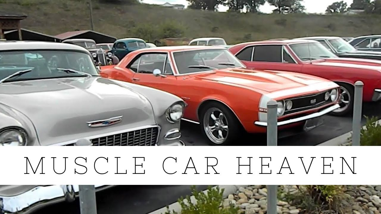 Classic Car Dealer: Classic Muscle Car Dealership In The Smokey Mountains