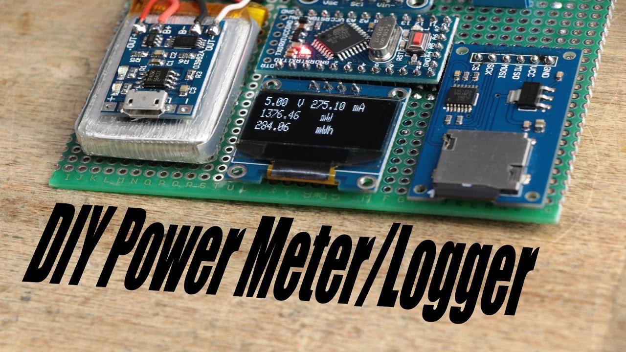 Digital Dc Watt Meter Using Pic Microcontroller T Wattsview 21kw Serial Rs232 Power Monitor