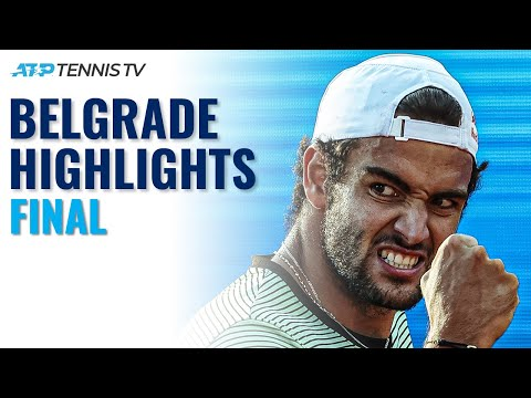 Matteo Berrettini vs Aslan Karatsev | Serbia Open 2021 Final Highlights