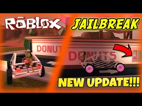 ATV BUGGY & DONUT SHOP! (ROBLOX Jailbreak) [NEW UPDATE]