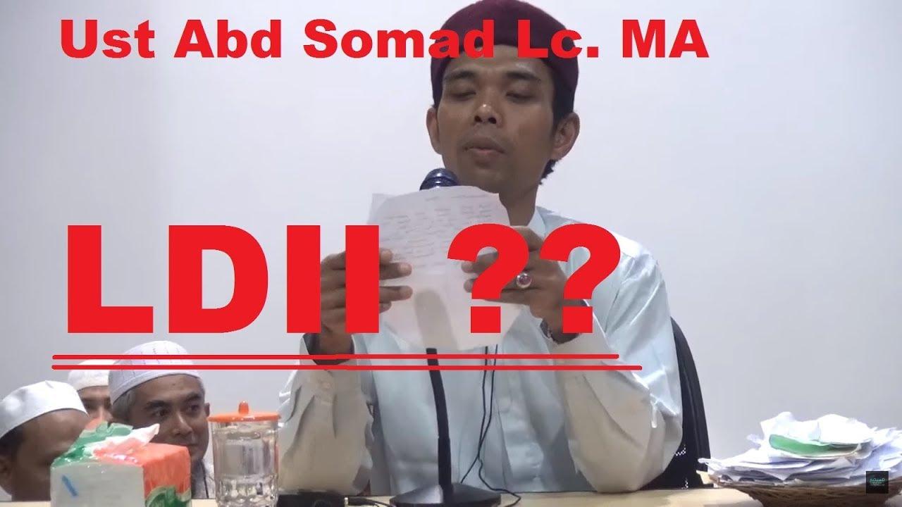 LDII pada Ust Abdul Somad Lc MA (dan klarifikasi MUI ...