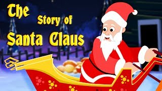 The Story of Santa Claus | Christmas Stories for Kids | Edewcate Children Stories