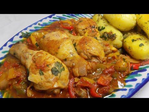 idée-repas-facile😋-poulet-recette-facile-rapide