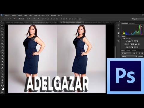 Como Adelgazar Con Photoshop - Tutorial Photoshop En Español