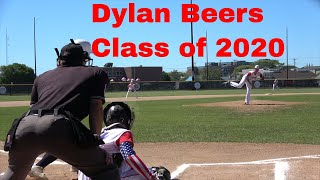 DYLAN BEERS #33 PITCHING HIGHLIGHTS FOR CRUSADERS BASEBALL CLUB
