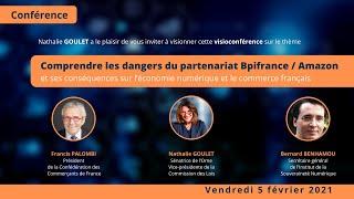 Conférence Sénat BPI France Amazon