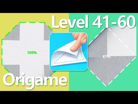 Origame Level 41-60 Walkthrough