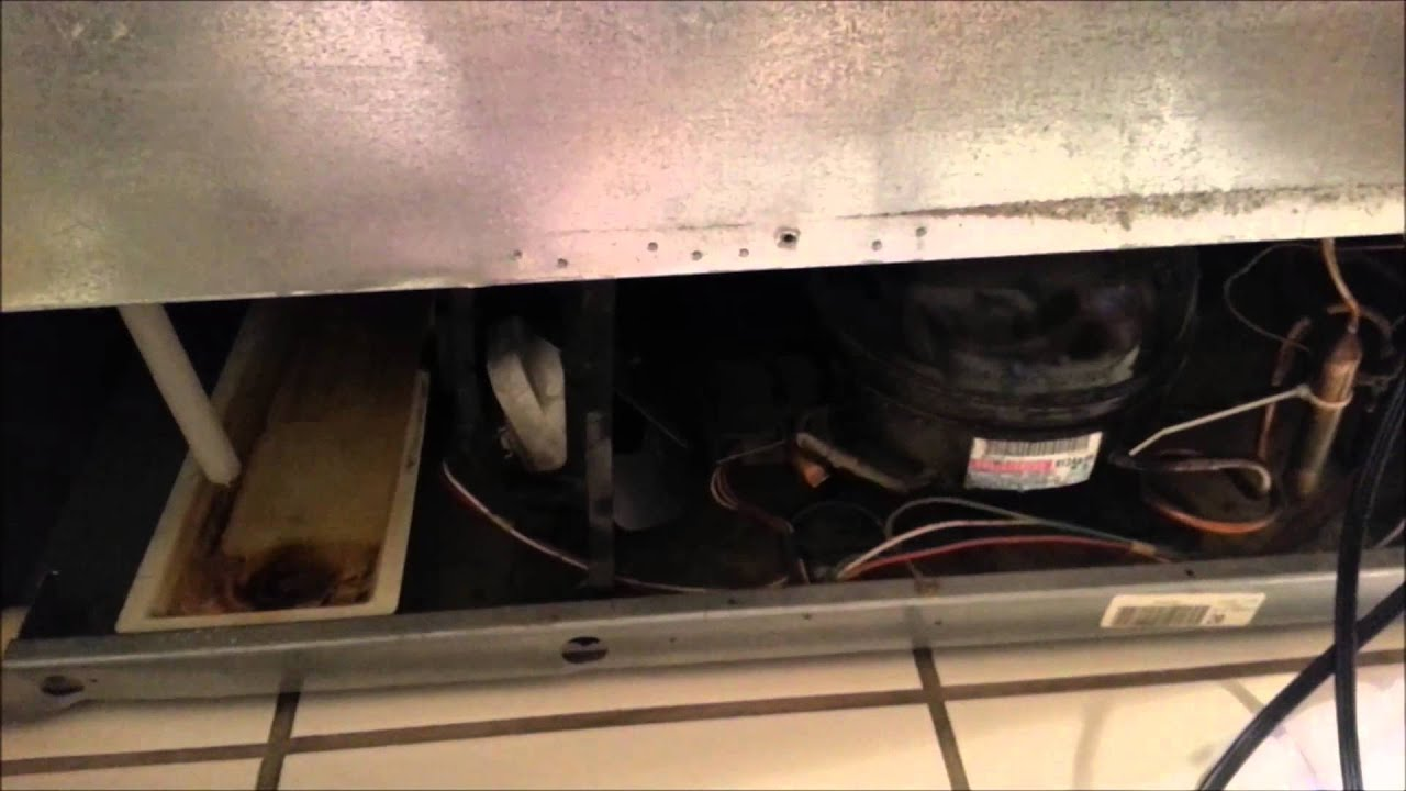 Kenmore Refrigerator Hack Broken Condenser Fan Youtube