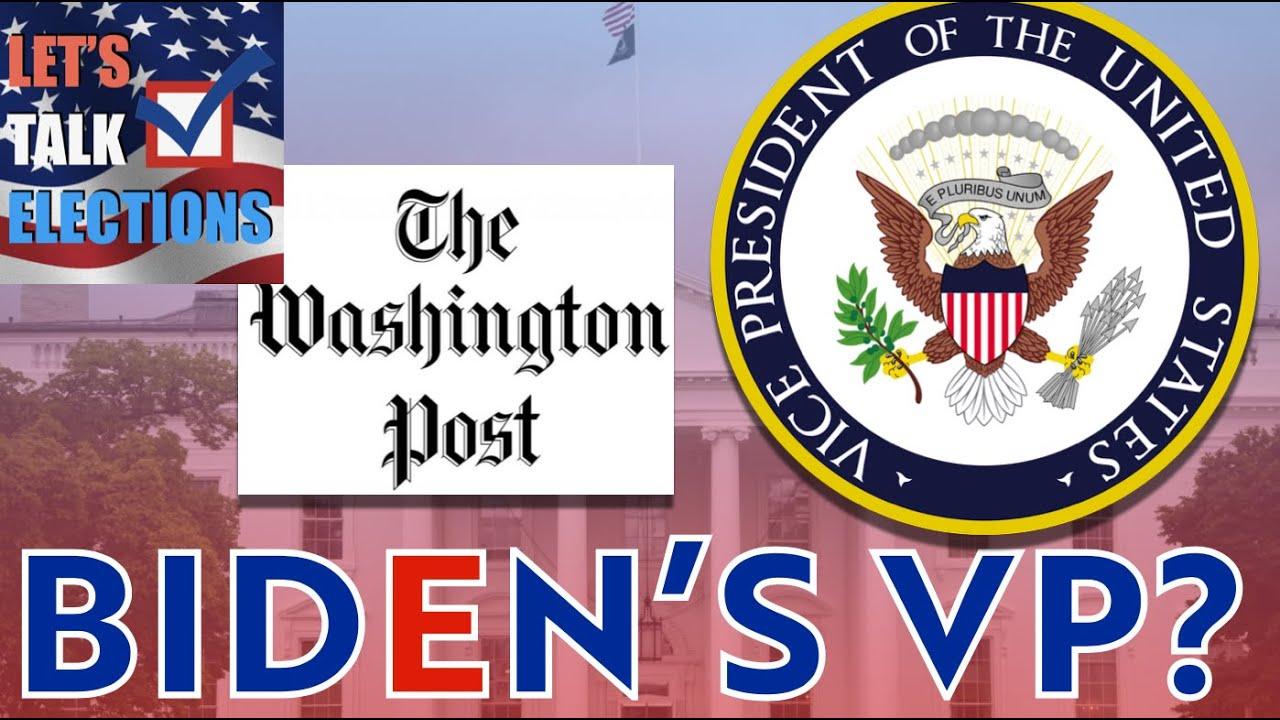 Joe Biden's TOP Vice Presidential Choices | Harris, Bass, Rice, and more!