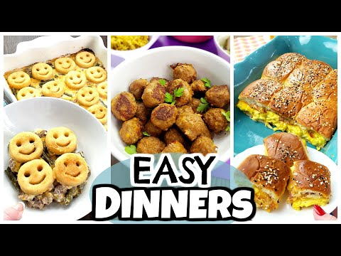 5 OF THE BEST Quick & Easy Dinners For PICKY EATERS