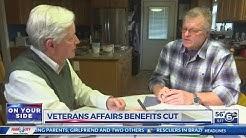 Veterans Affairs benefits cut