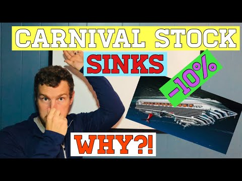 CARNIVAL STOCK Down BIG! Why? Is it time to dive off ccl stock?!