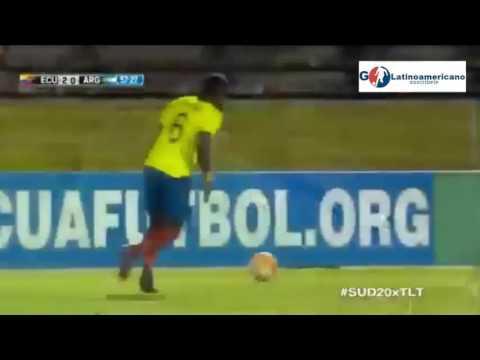 Ecuador vs Argentina 3-0 - Todos los Goles - Sudamericano Sub 20 - 05/Febrero/2017