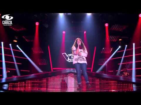 Daniela cantó 'Crazy' de Gnarls Barkley – LVK Colombia – Audiciones a ciegas – T1