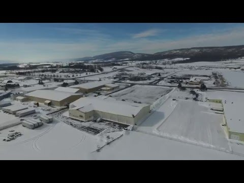 Phantom 3 Reedsville Milroy, PA Fly over 24Jan2016