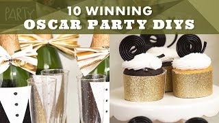 10 Winning Oscar Party DIYs - HGTV Handmade