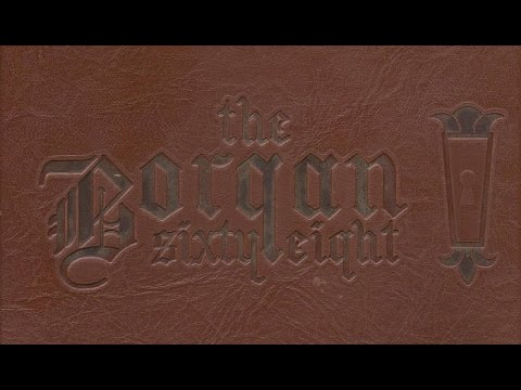 1968 Borger High School yearbook: The Borgan