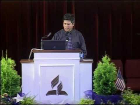 """Camp Meeting 2016 - Tom Evans """"In Step with the Spirit"""""""