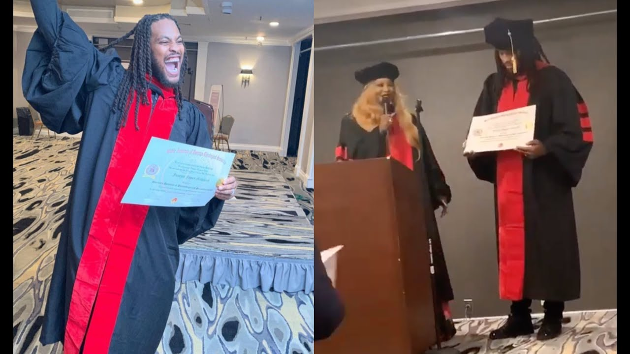 Waka Flocka Becomes A Doctor Gets His Degree In Philanthropy &  Humanitarianism - YouTube