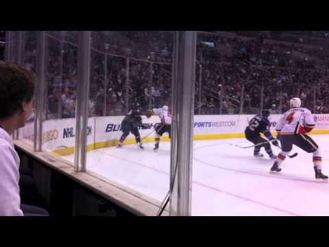 LA Kings Hockey Game (HD) Front Row Staples Center Glass Seats