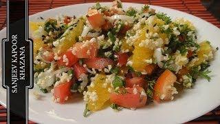 Orange And Broken Wheat Salad