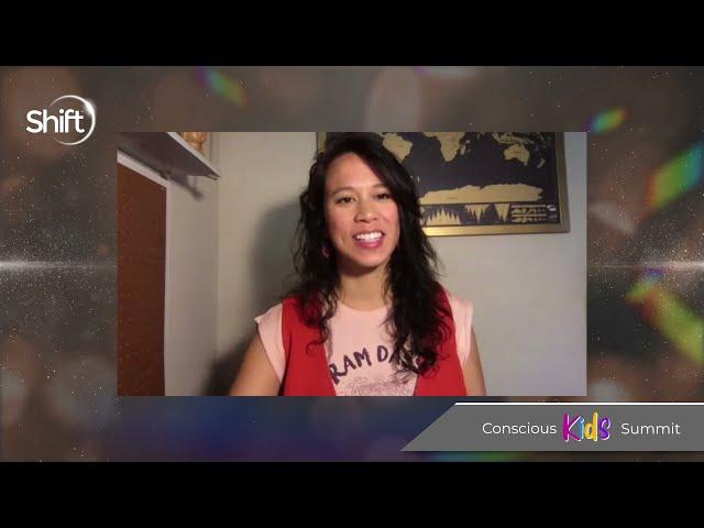 Wee Yogis at Conscious Kids Summit
