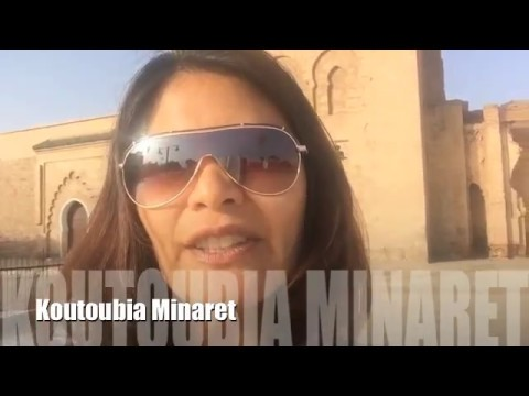 Marrakech - Minaret, Tombs, and Palaces