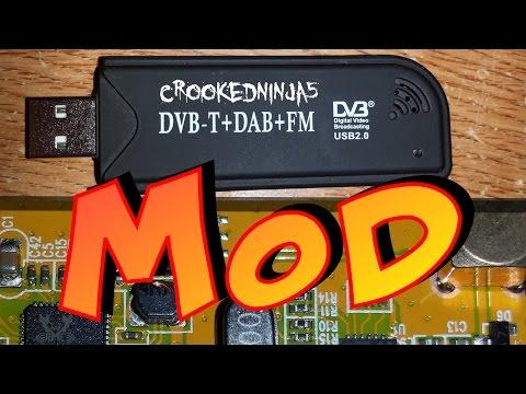 "SDR Shortwave Radio Mod ""easy HF dongle mod"""