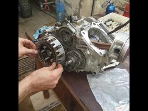 Yamaha raptor 660 engine rebuid  YouTube