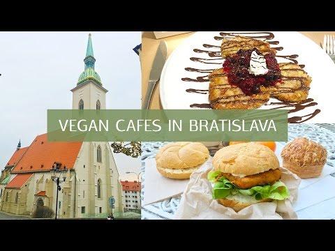 Vegan Cafes in Bratislava🌿What to eat vegan in Slovakia