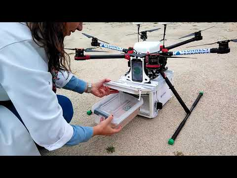 Testing Drone delivery for medicines and health products - Farmácia da Lajeosa and Connect Robotics