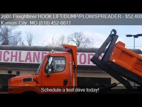 2008 Freightliner HOOK LIFT/DUMP/PLOW/SPREADER  for sale in
