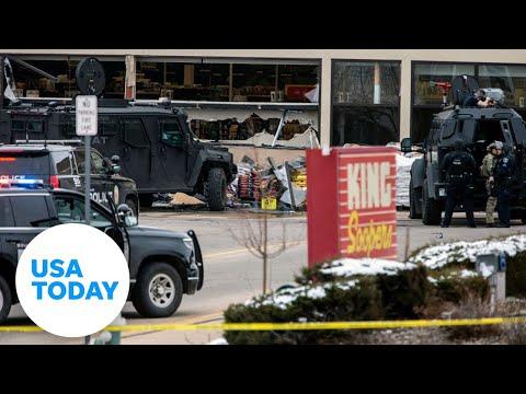 Boulder police hold news conference after supermarket shooting | USA TODAY