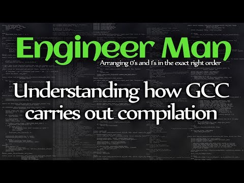 Understanding how GCC carries out compilation