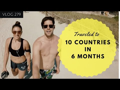 10 COUNTRIES IN 6 MONTHS - THE CRAZIEST 6 MONTHS EVER - TRAVEL VLOGGER - SOUTH BEACH MIAMI