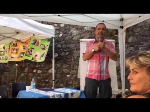 La Fabbrica dei malati - di Marcello Pamio al Castle Vegetarian Festival 2016